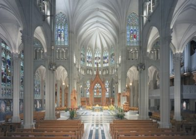 Restoration for the Cathedral Basilica of the Assumption - Photo: Wolf Photos