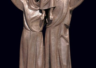 New bronze statuary for Holy Family Church, Whitefish Bay, WI - Photo: Photo Concepts