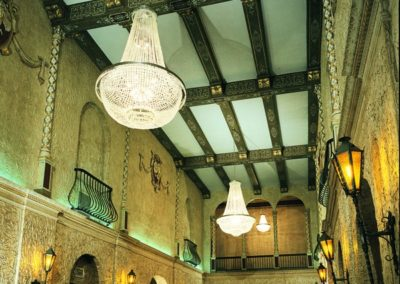 Restored lobby of the Sheboygan Theatre, Sheboygan, WI - Photo: Rick Breuer