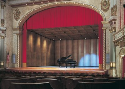 Restored orchestra shell at the Sheboygan Theatre, Sheboygan, WI - Photo: Rick Breuer
