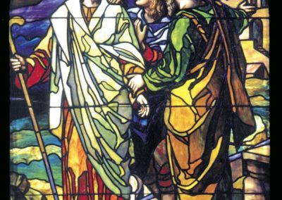 Conservation of stained glass for Zion Evangelical United Church of Christ