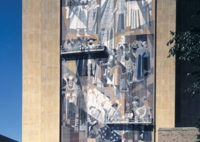 Theodore M. Hesburgh Library, University of Notre Dame – Mosaic Restoration