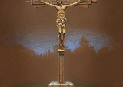 Rendering of the Crucifix