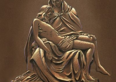 Rendering of the Pieta