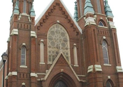 Exterior of St. Francis Xavier