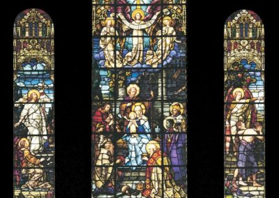 Conservation of stained glass for St. Joseph Convent