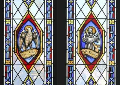 Two new stained glass windows