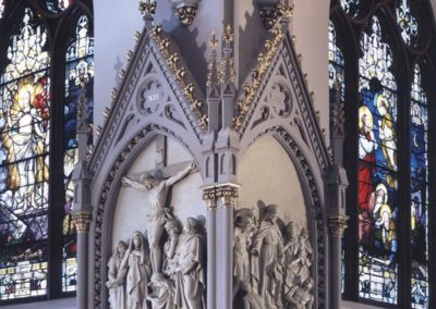 The beautiful transformation of the restored Station of the Cross