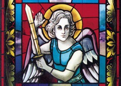 Stained glass for St. Elizabeth Ann Seton Catholic Church