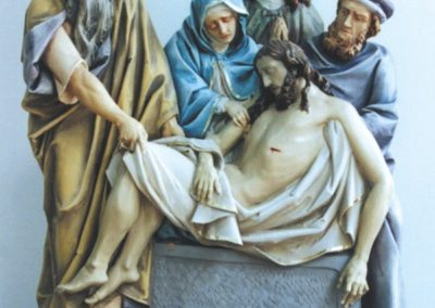 Restored Stations of the Cross at the Cathedral of St. John the Baptist