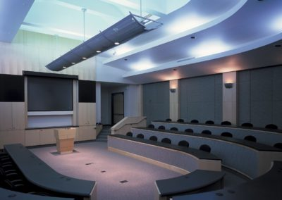 Main meeting room in the adjacent conference center
