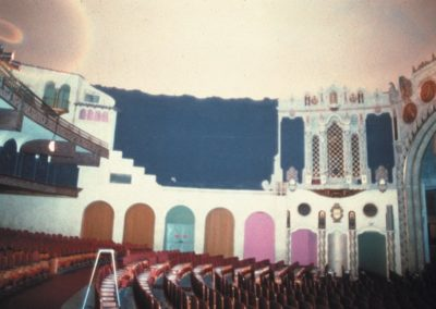 Before the restoration of the Orpheum Theatre in Phoenix, AZ