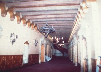 The lobby before the restoration at the Orpheum Theatre in Phoenix, AZ