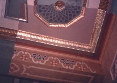 Decorative sample for the restoration at the Orpheum Theatre in Phoenix, AZ