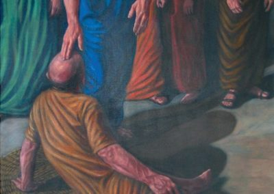 New mural for St. Joachim Chapel in Oklahoma City, Oklahoma