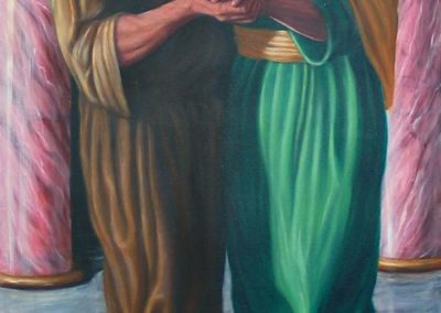 New mural for St. Joachim Chapel in Oklahoma City, Oklahoma