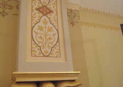 Decorative sample for St. Bartholomew Catholic Church, Stevens Point, WI