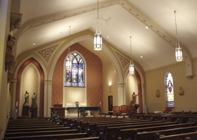 Restoration of St. Bartholomew Catholic Church, Stevens Point, WI