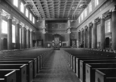 Historic photo of the Cathedral of the Immaculate Conception