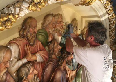 Artist Painting St. Stanislaus
