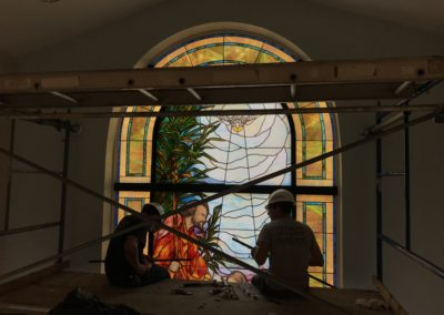 St. Nicholas Window Install