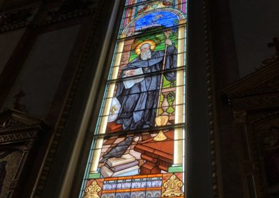 St. Benedict Window at St. Stanislaus