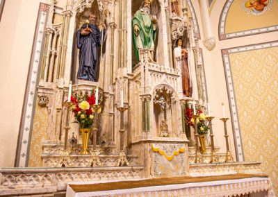St. Patrick's Altar Close-up